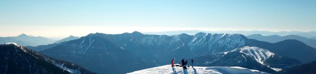 Ski de randonnée Cime de Piagu – Boréon