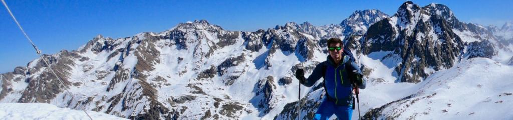 Alpinisme – Cime de la Lombarde par le Couloir Ouest