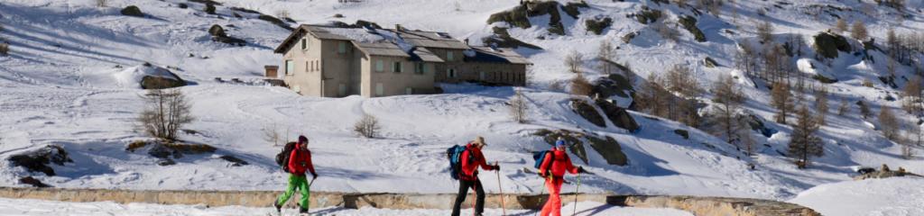 Ski de randonnée Refuge des Merveilles
