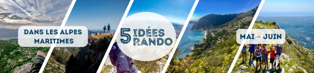 5 Idées Rando dans Les Alpes Maritimes