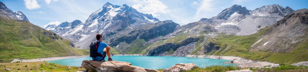 Randonnée au Lac de la Sassière – Val d'Isère