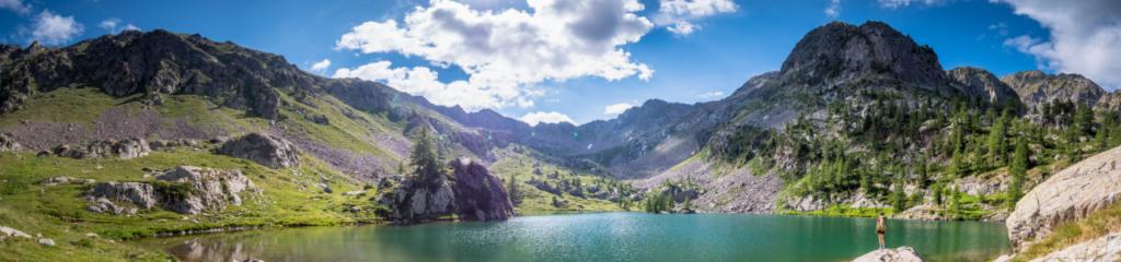 Bivouac au Lac de Trécolpas et Lac du Brocan